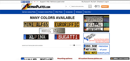 germanplates.com